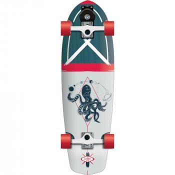 FLYING WHEELS Surf Skateboard 31,5 Luska